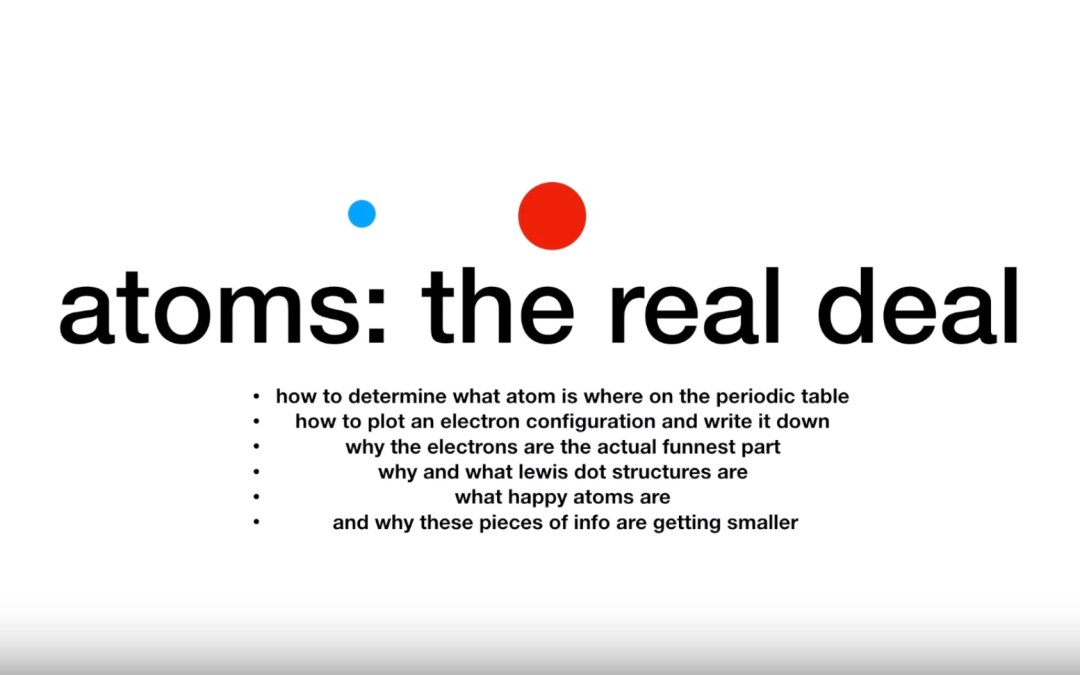 atoms: the real deal videos