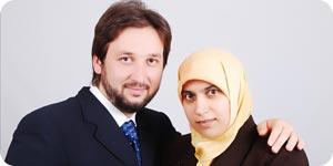 Photo of Muslim couple