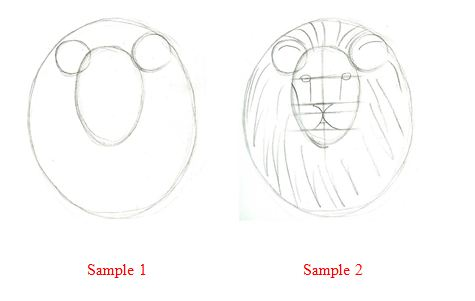 stafezariz: pictures of lions to draw