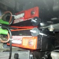 How I make my own car battery box with tie down.