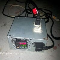 Make a temperature controller for an aluminum metal smelter kiln