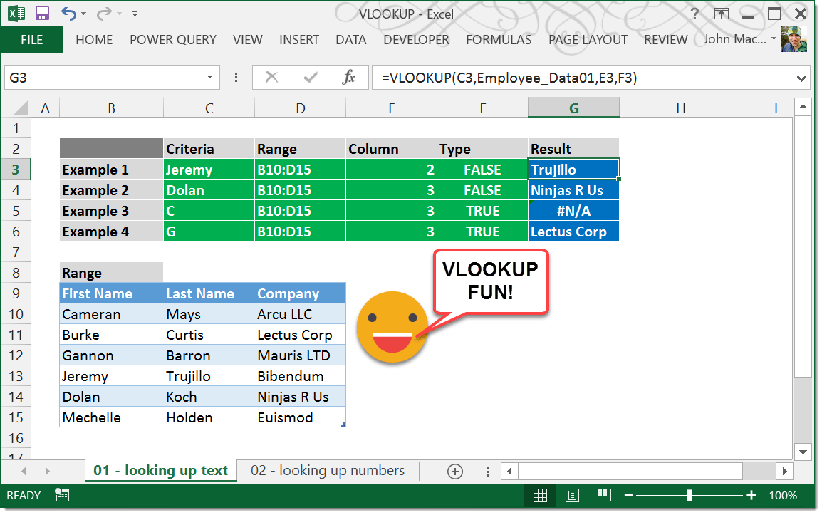 VLOOKUP function   How To Excel