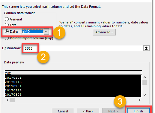 How To Change A Date Into A Serial Number Recognised By Excel