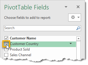Use-The-Check-Box-To-Add-or-Remove-Fields-From-Your-Pivot-Table 101 Advanced Pivot Table Tips And Tricks You Need To Know
