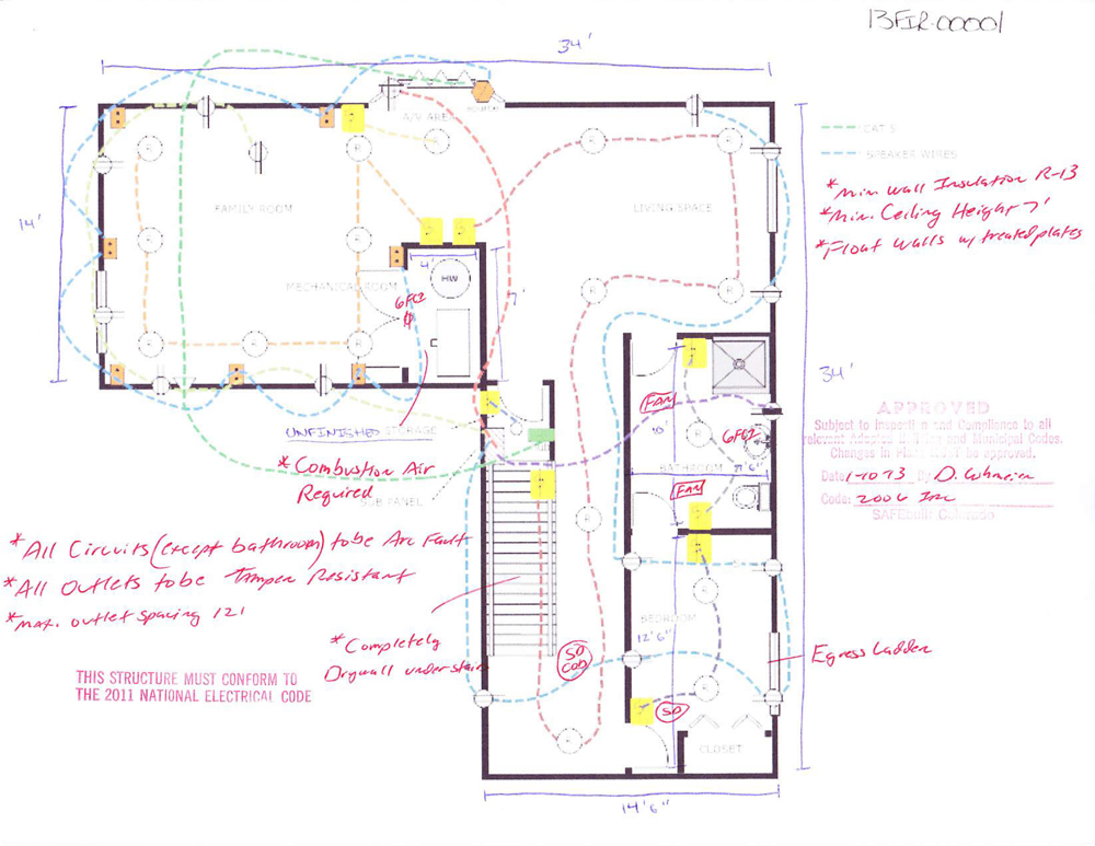 new finished basement wiring diagram 2000 harley davidson sportster finishing plans - layout design ideas diy