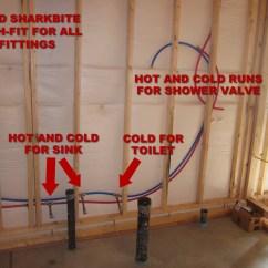 Plumbing Manifold Diagram 2000 Vw Beetle Wiring How To Finish A Basement Bathroom - Pex