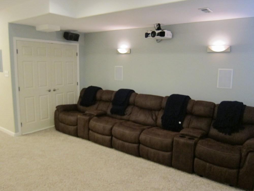 medium resolution of basement home theater