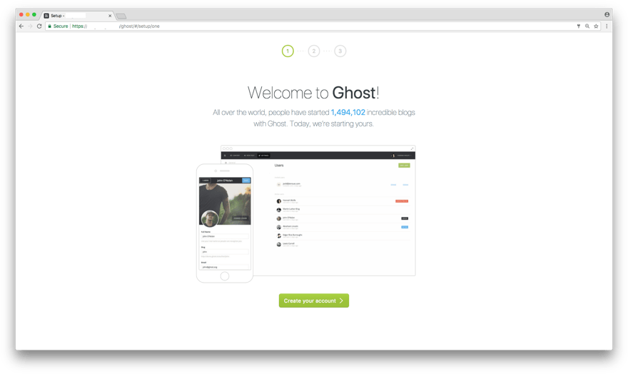 How to deploy Ghost Blog with Nginx on Ubuntu 18.04 LTS