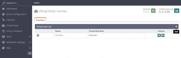 Virtual Hosts Summary