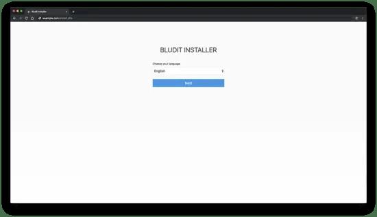 Bludit Installer