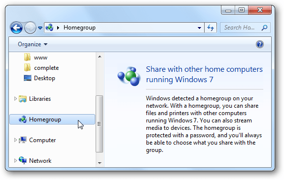 How To Disable or Enable the Homegroup Feature in Windows 7