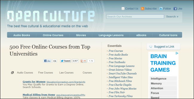 Free online college degrees