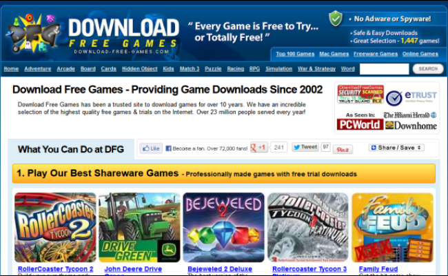 The Best Websites For Downloading Games And Playing Games