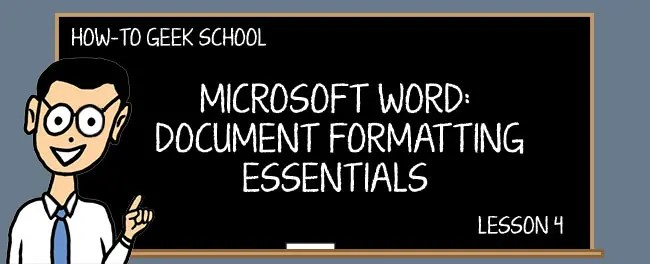 word formatting working with