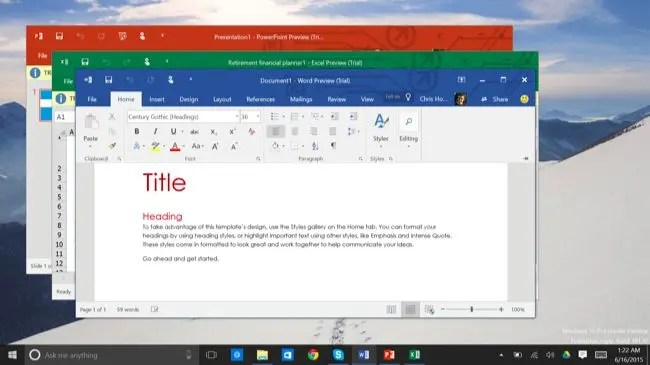 Why Windows 10 Offers Two Different Versions of Microsoft Office