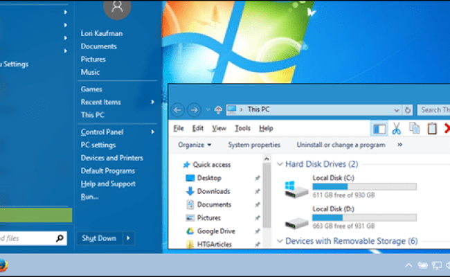 How To Make Windows 10 Look And Act More Like Windows 7