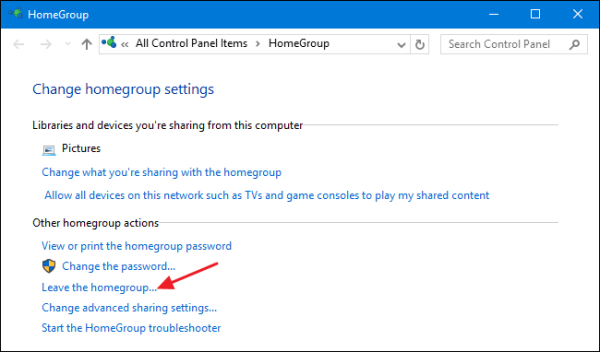 How to Remove Your PC from a Windows HomeGroup