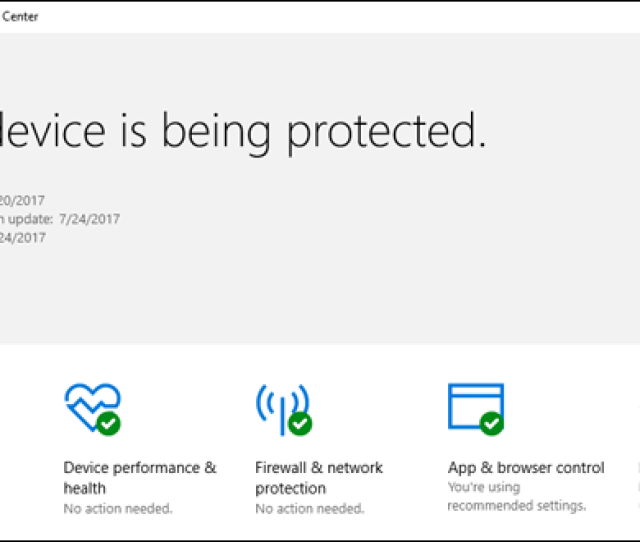 When You Install Windows  Youll Have An Antivirus Program Already Running Windows Defender Comes Built In To Windows  And Automatically Scans