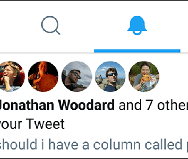 In Some Cases If You Liked A Retweet The Person Who Retweeted The Original Tweet Will Also See A Notification