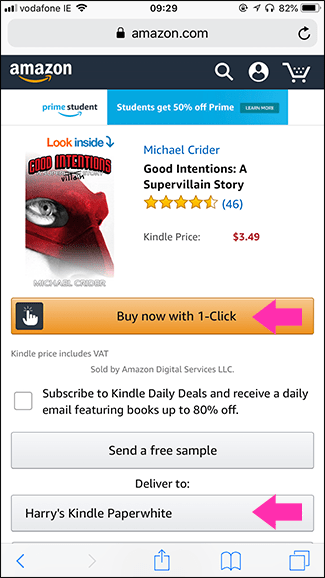 Tips on how to Purchase Kindle or Audible Books on iPhone or iPad