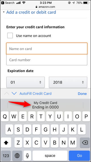 In terms of usage, it's an identical replacement for a regular credit card, which can be very. How To Autofill Your Credit Card Number Securely
