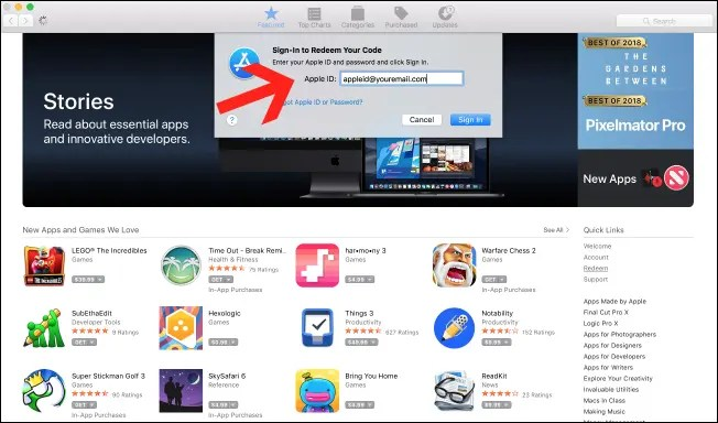 How To Redeem a Gift Card or Promo Code in the Mac App Store – IT