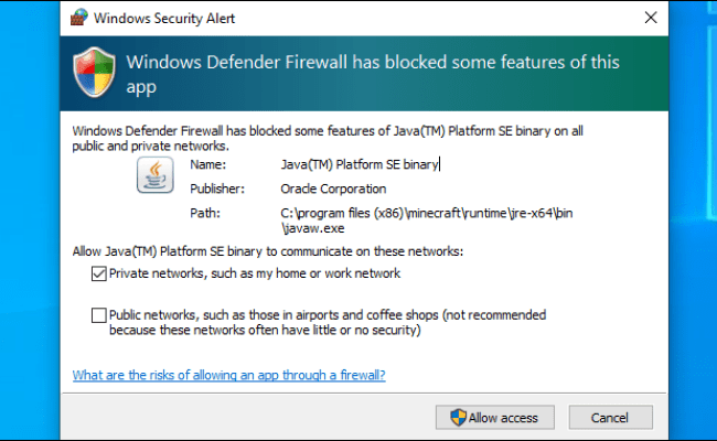 Why Does Windows Defender Firewall Block Some App Features