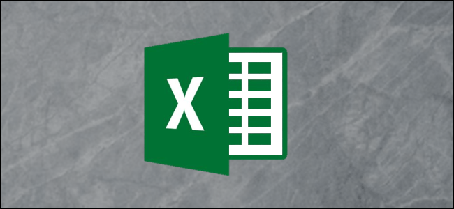 Excel Logo on a gray background