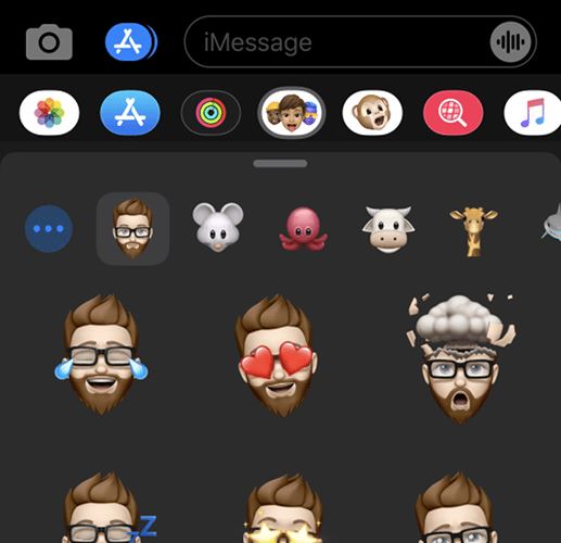 Using Memoji on a Device that Lacks Face ID
