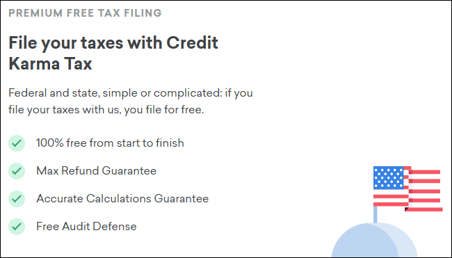 Credit Karma Tax's pitch.