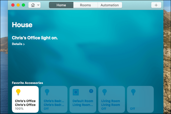 control philips hue lights from your mac