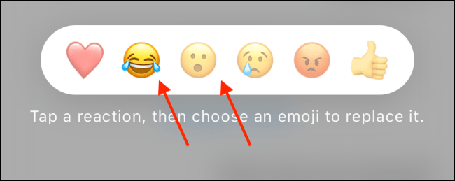 Select the emoji you want to change