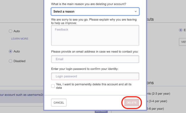 Delete Your ProtonMail Account