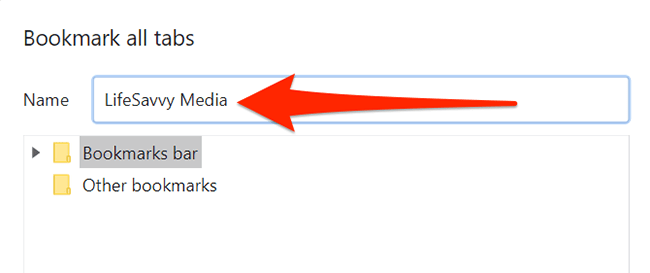Save bookmarks window in Chrome