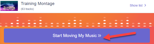 """start the transfer by clicking """"start moving my music"""""""
