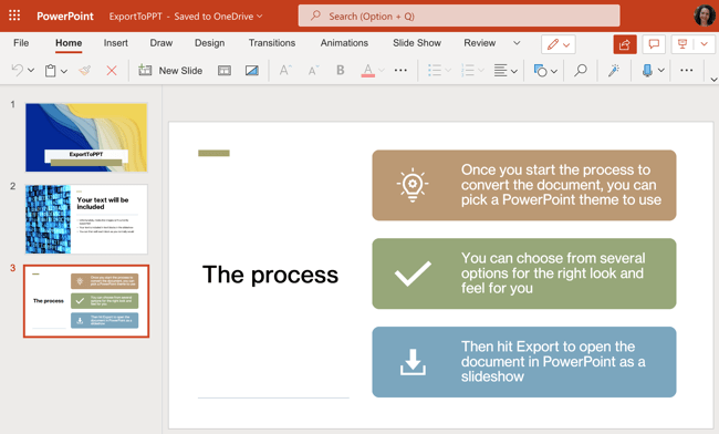 PowerPoint Presentation Exported from Word