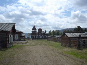 The Museum of Wooden Arcitecture near Irkutsk