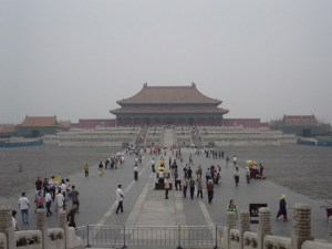 Inside the Forbidden City in Beijing