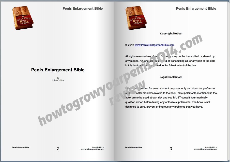 Download The Penis Enlargement Bible Pe Bible Pdf Free 2018 Detailed Review  How -5882
