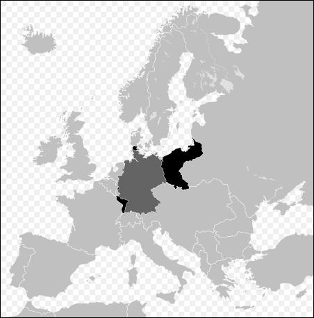 German territories lost after both World Wars
