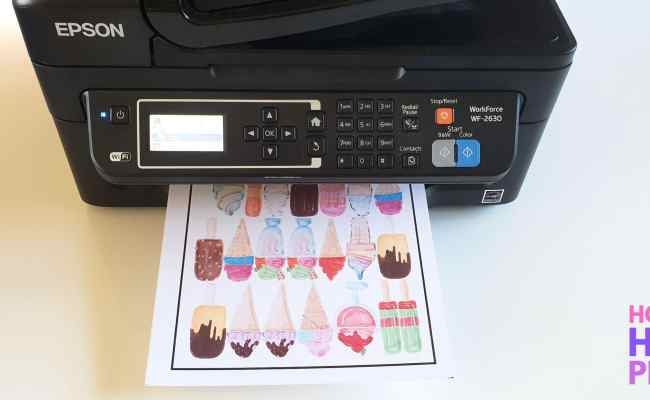How To Use Cricut Print And Cut With Printable Vinyl Diy