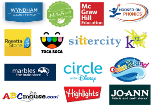 Brands we work with - Homeschool Advertising Partners