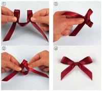 How to tie a bow knot easy step by step DIY instructions ...