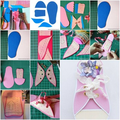 How To Make Paper Sneaker Card Step By Step DIY Tutorial