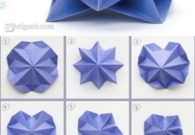 Origami Christmas Tree Instructions Free