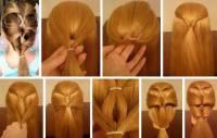 How to braid super cute hair braid step by step DIY ...