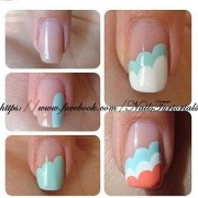paint simple cute nail art