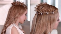 Cosplay hair style: how to braid crown hairstyle for