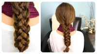 How to do cute stacked braids hairstyles for long hair DIY ...
