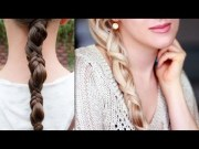 simple ponytail braid